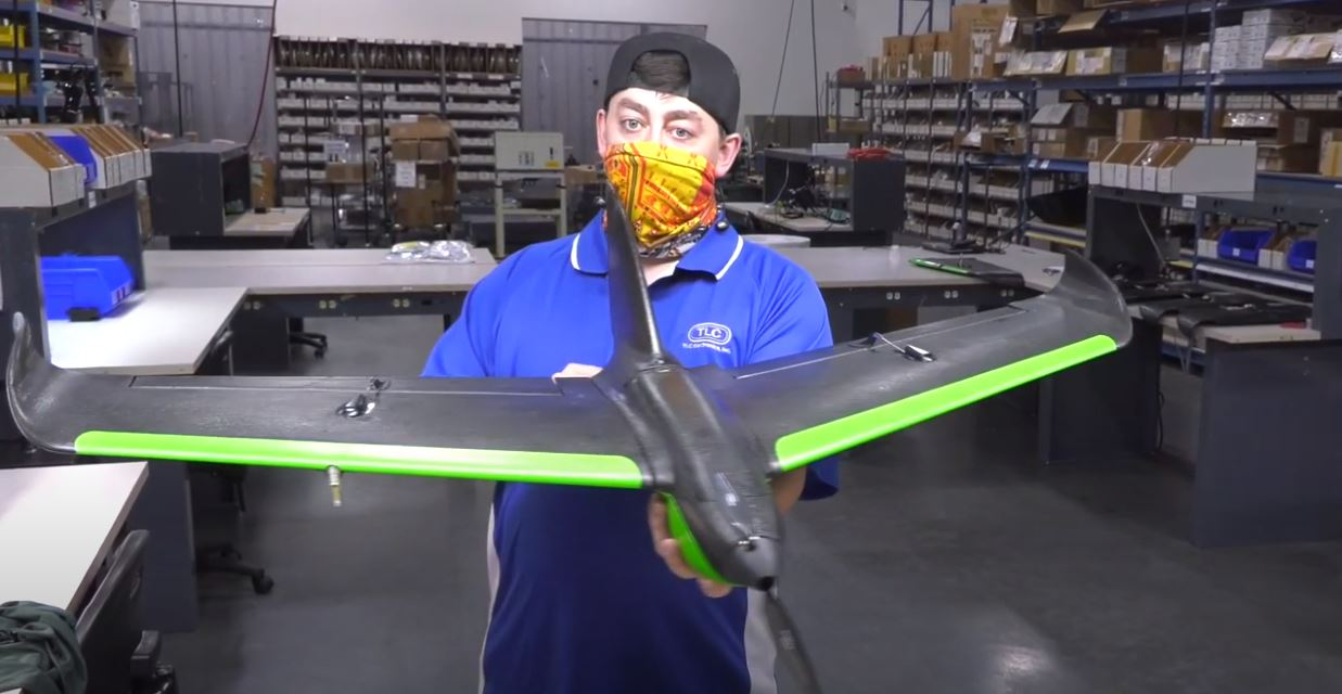 Agriculture Drone Airplane